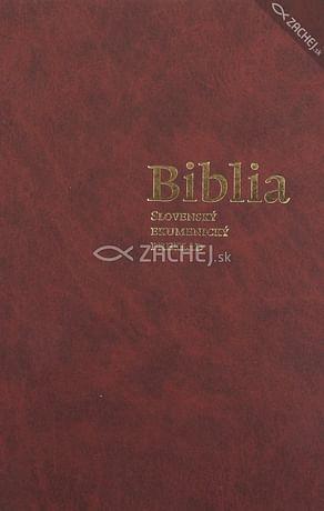 Biblia - Ekumenický preklad + DT knihy