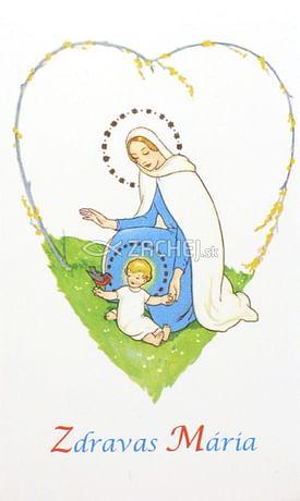 Skladačka: Zdravas´ Mária