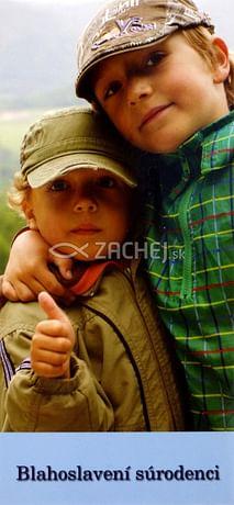Záložka: Blahoslavení súrodenci (Z-132SK)