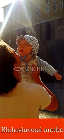 Záložka: Blahoslavená matka (Z-110SK)