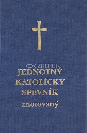 Jednotný katolícky spevník (znotovaný modrý - matný)