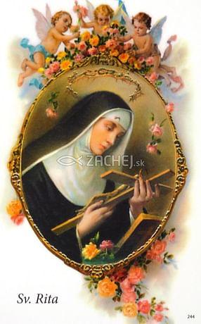 Obrázok: Sv. Rita z Cascie (244/169)