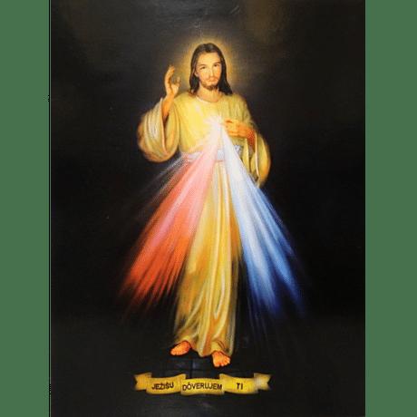 Obraz na dreve: Božie milosrdenstvo (40x30)