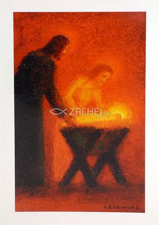 Pozdrav: Betlehem - s textom (VP003)
