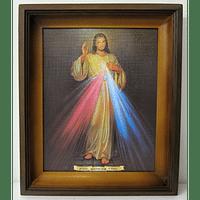 Obraz v ráme: Božie milosrdenstvo (58x48) (24166)