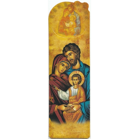Záložka: Sv. rodina - ikona (SB09)