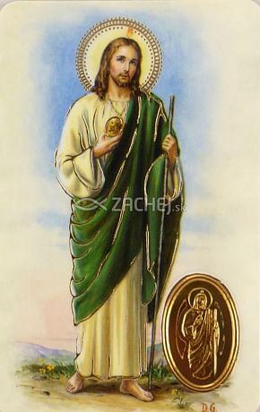 Kartička: Svätý Júda Tadeáš (RCC)