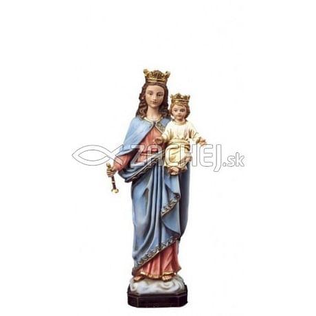 Soška: Panna Mária Kráľovná - 12 cm (PB6701)