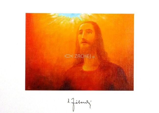 Pozdrav: Kristus nám prišiel otvoriť nebo - bez textu (VN001)