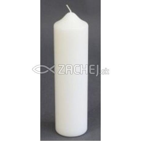 Sviečka: kostolná 500g - biela