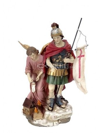 Socha: Svätý Florián - 12 cm (8869)