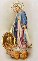 Kartička: Panna Mária Zázračnej medaily (RCC)