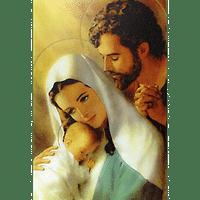 Obraz na dreve: Svätá rodina - farebná (30x20)