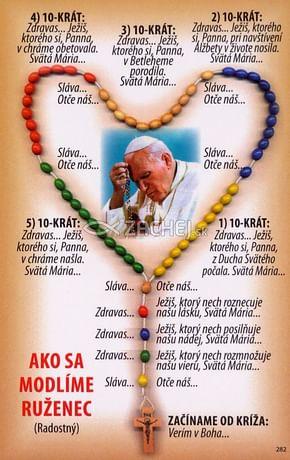 Obrázok: Ako sa modlíme ruženec (282/131)