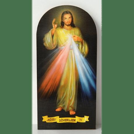 Obraz na dreve: Božie milosrdenstvo (PO3)