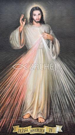 Obraz na dreve: Božie milosrdenstvo (25x15)