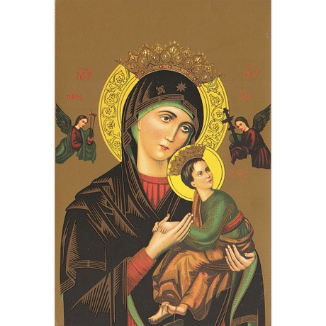 Obraz na dreve: Matka ustavičnej pomoci (15x10)