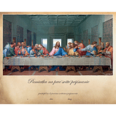 Pamätný list: Pamiatka na 1. sväté prijímanie - Posledná večera