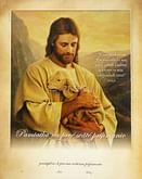 Pamätný list: Pamiatka na 1. sväté prijímanie - Ježiš, dobrý Pastier