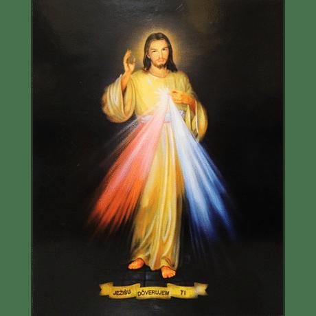 Obraz na dreve: Božie milosrdenstvo (25x20)