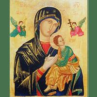 Obraz na dreve: Matka ustavičnej pomoci - ikona