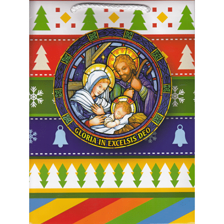 Darčeková taška: vianočná - malá (2)