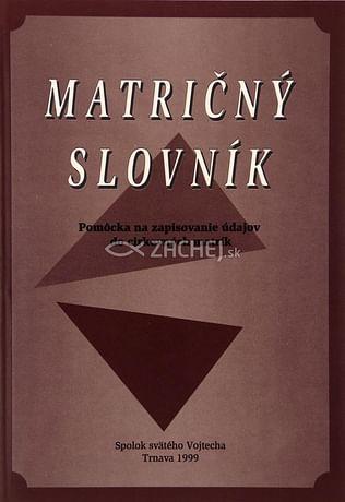 Matričný slovník
