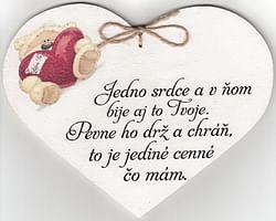 Drevené srdce: Jedno srdce a v ňom...