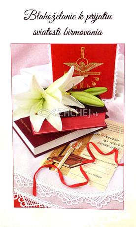Pozdrav: k birmovke - s textom (15-126)