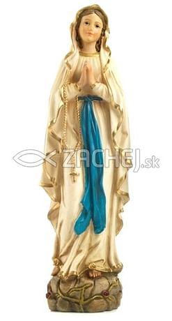 Socha: Panna Mária Lurdská - 38 cm (PB6310)