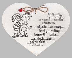 Drevené srdce: Najkrajšie a nenahraditeľné...