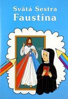 Omaľovanka - Svätá Sestra Faustína