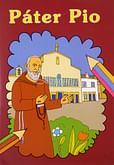 Omaľovanka - Páter Pio