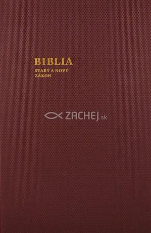 Biblia - katolícka, veľký formát (bordová)