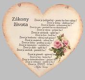 Drevené srdce: Zákony života - citát Matky Terezy