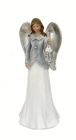 Anjel s lampášom - 25 cm (31807)