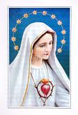 Skladačka: Nepoškvrnené srdce Panny Márie