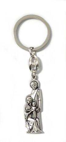 Kľúčenka: Sv. rodina, kovová (KP022)