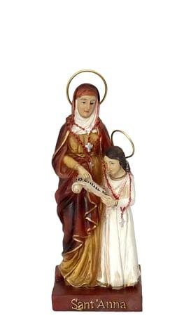 Soška: Svätá Anna - 13 cm (0935)