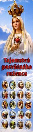 Záložka: Tajomstvá posvätného ruženca (ZAZ001)
