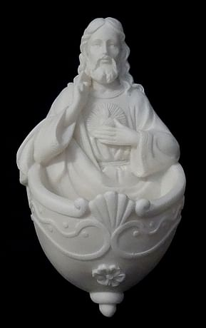 Svätenička: Pán Ježiš - alabaster (648)