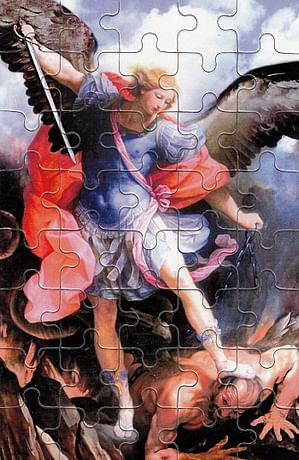 Puzzle: Michal archanjel (PU010)
