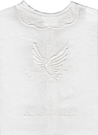 Krstová košieľka - biela (26B)