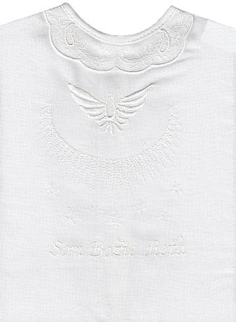 Krstová košieľka - biela (11B)