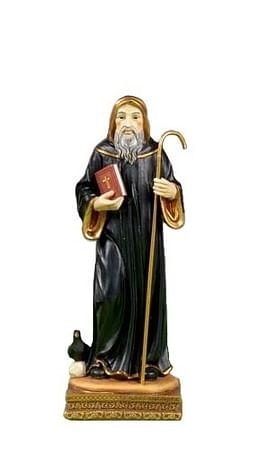 Soška: Svätý Benedikt - 13 cm (PB10408)