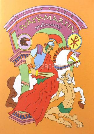 Maľovanka - Svätý Martin