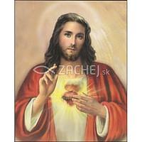 Obraz na dreve: Srdce Pána Ježiša (40x30)