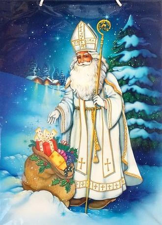 Darčeková taška: Sv. Mikuláš - veľká (T9)