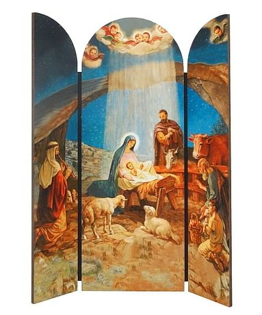 Betlehem: triptych 27,5 cm