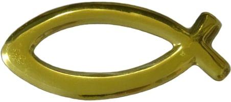 Samolepka: RYBKA - zlatá (24947B-A1)